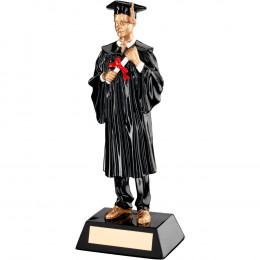 Resin Male Graduate Trophy