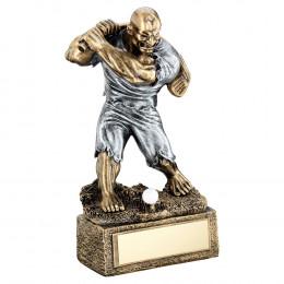 Bronze & Pewter Golf 'Beasts' Figure Trophy