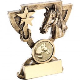 Horse Mini Cup Trophy