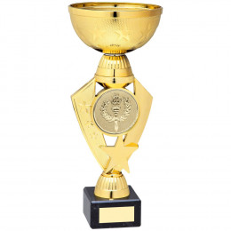 Gold Total Plastic Star Trophy