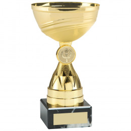 Gold Mini Diamond Stem Trophy