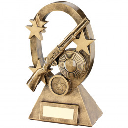 Shooting Oval Stars Series Trophy