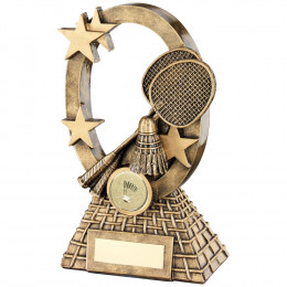 Badminton Oval Stars Series Trophy