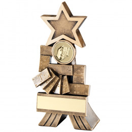 Dominoes Shooting Star Trophy