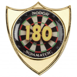 Darts '180' Metal Badge