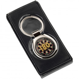 "Darts ""180"" Metal Keyring"