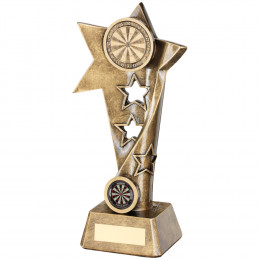 Darts Twisted Star Column Trophy