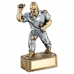 Bronze & Pewter Darts 'Beasts' Figure Trophy