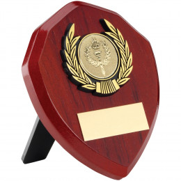 Rosewood Shield & Trim Trophy