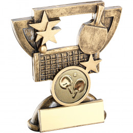 Table Tennis Mini Cup Trophy