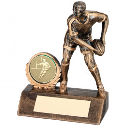 Resin Mini Male Rugby Trophy