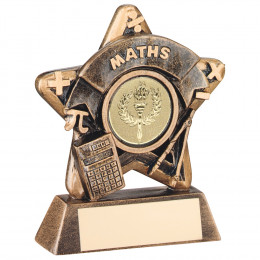 Mini Star 'Maths' Trophy