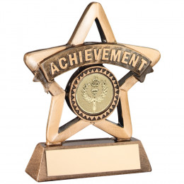Resin 'Achievement' Mini Star Trophy