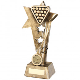 Pool/Snooker Twisted Star Column Trophy