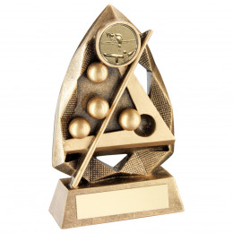 Pool/Snooker Diamond Collection Trophy