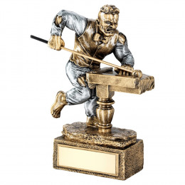 Bronze & Pewter Pool/Snooker 'Beasts' Figure Trophy