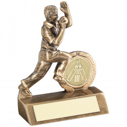 Mini Cricket Bowler Trophy