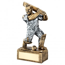 Bronze & Pewter Cricket 'Beasts' Figure Trophy