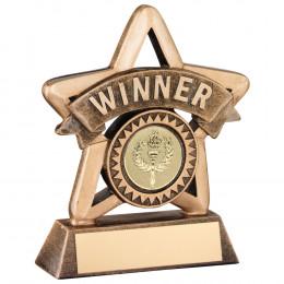 Resin 'Winner' Mini Star Trophy