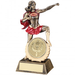 Generic Female 'Hero' Trophy