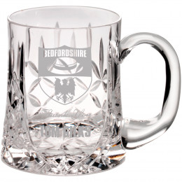 Cut Crystal Glass Tankard (Pint)