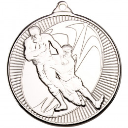 50mm Rugby 'Multi Line' Medal