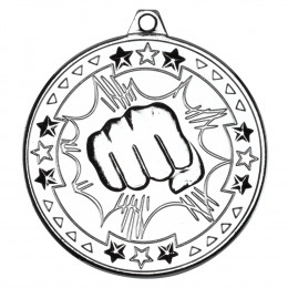 50mm Martial Arts 'Tri Star' Medal