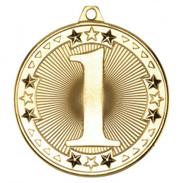50mm Tri Star' Medal
