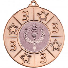 4 Star 3rd Place Bronze Medal