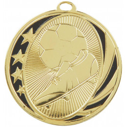 50mm Boot & Ball Football Medal