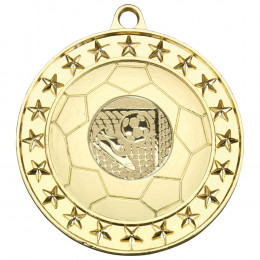 70mm Football Medal