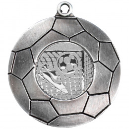 70mm Domed Football Medal