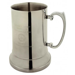 Stainless Steel Pint Tankard in Presentation Box