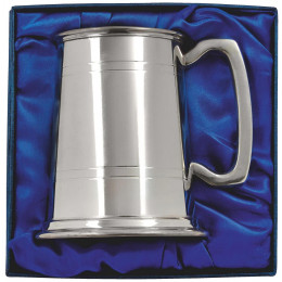Pewter Tankard in Presentation Box