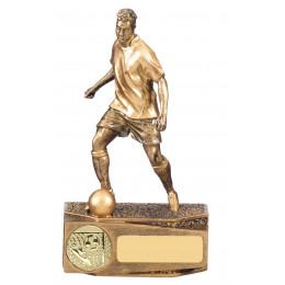 Valiant Male Football Trophy