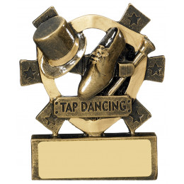 Tap Dancing Mini Shield