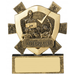 Attendance Mini Shield Award