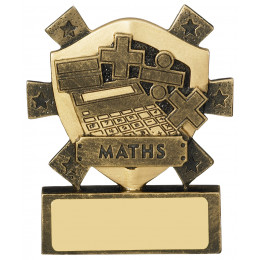 Maths Mini Shield Award