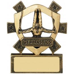 Male Gymnastics Mini Shield
