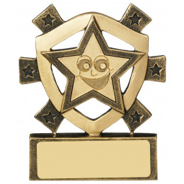 Smiley Star Mini Shield