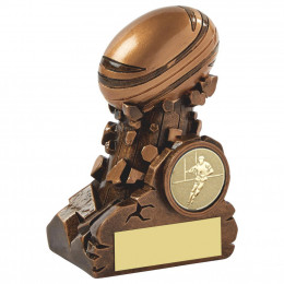 Resin Column Rugby Ball Award