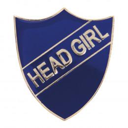 Head Girl Enamel Shield Badge