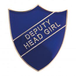 Deputy Head Girl Enamel Shield Badge
