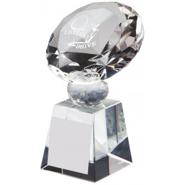 Crystal Diamond Golf Award for Longest Drive