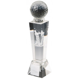 Crystal Tower Men's Golf Award