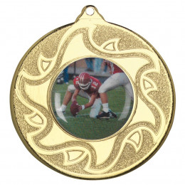 50mm American Football Medal