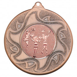 50mm Cheerleaders Bronze Medal