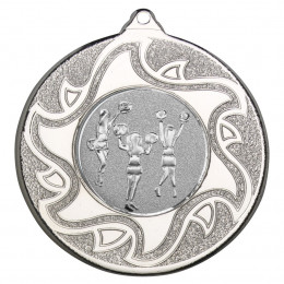 50mm Cheerleaders Silver Medal
