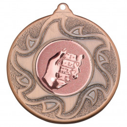 50mm Dominoes Bronze Medal