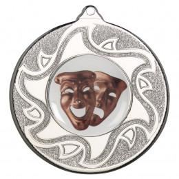 50mm Drama Silver Medal